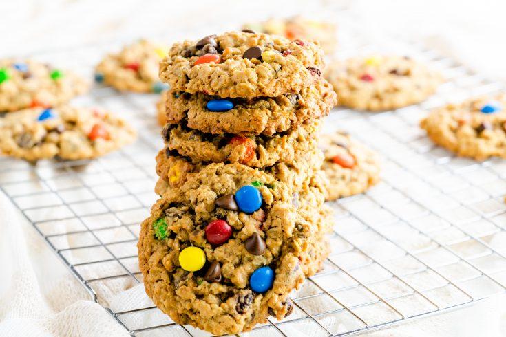Monster Cookies (Gluten-Free Option)