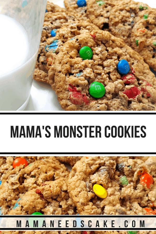 Monster Cookies Recipe 2