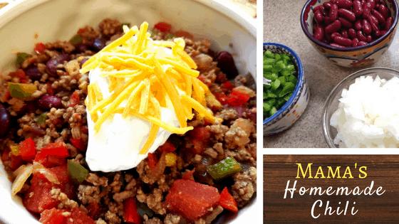 Mama's Homemade Chili