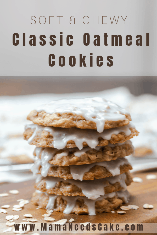 Soft Chewy Classic Oatmeal Cookies