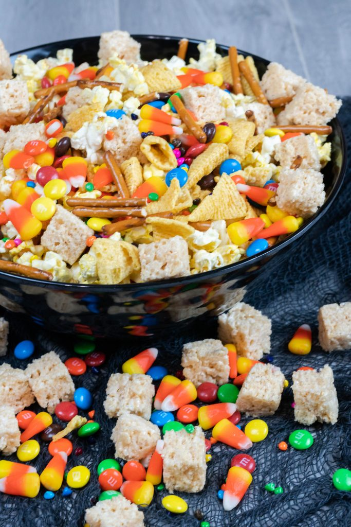 Sweet Salty Halloween Snack Mix