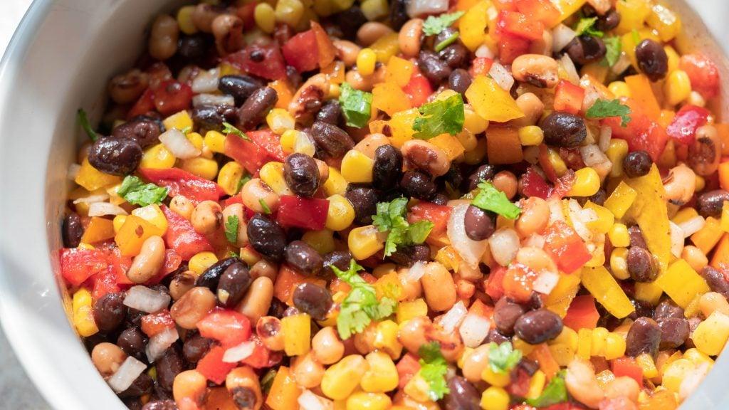 Easy Black Bean Corn Salad Recipe Cowboy Caviar
