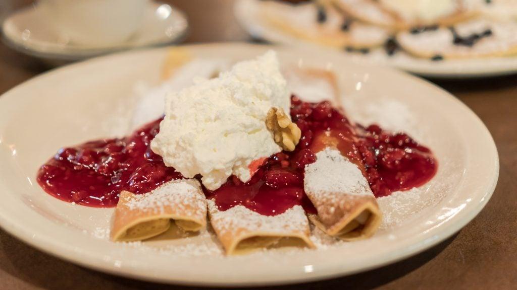 pancake pantry gatlinburg tn raspberry crepes