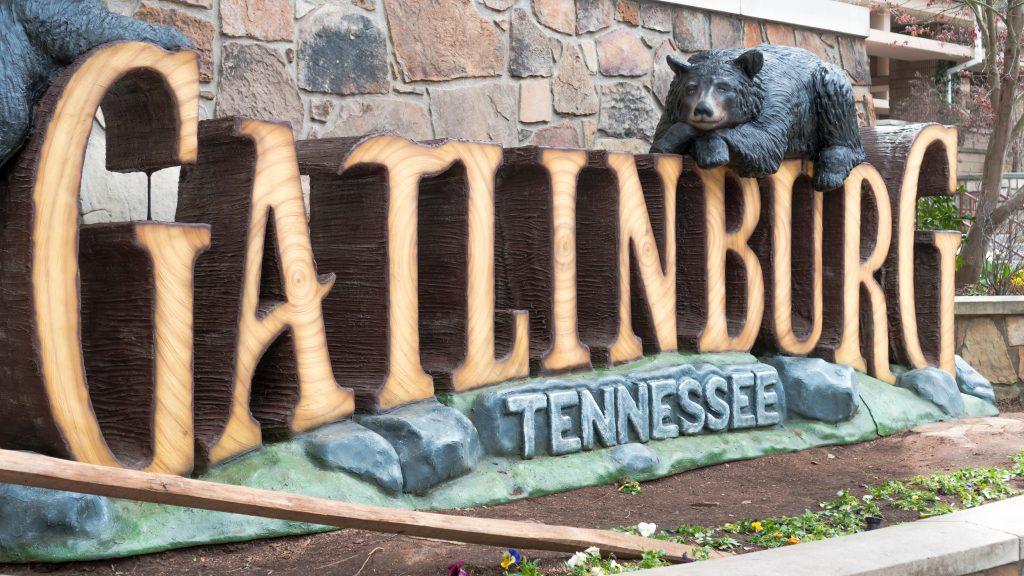 Galtinburg TN Shops bear