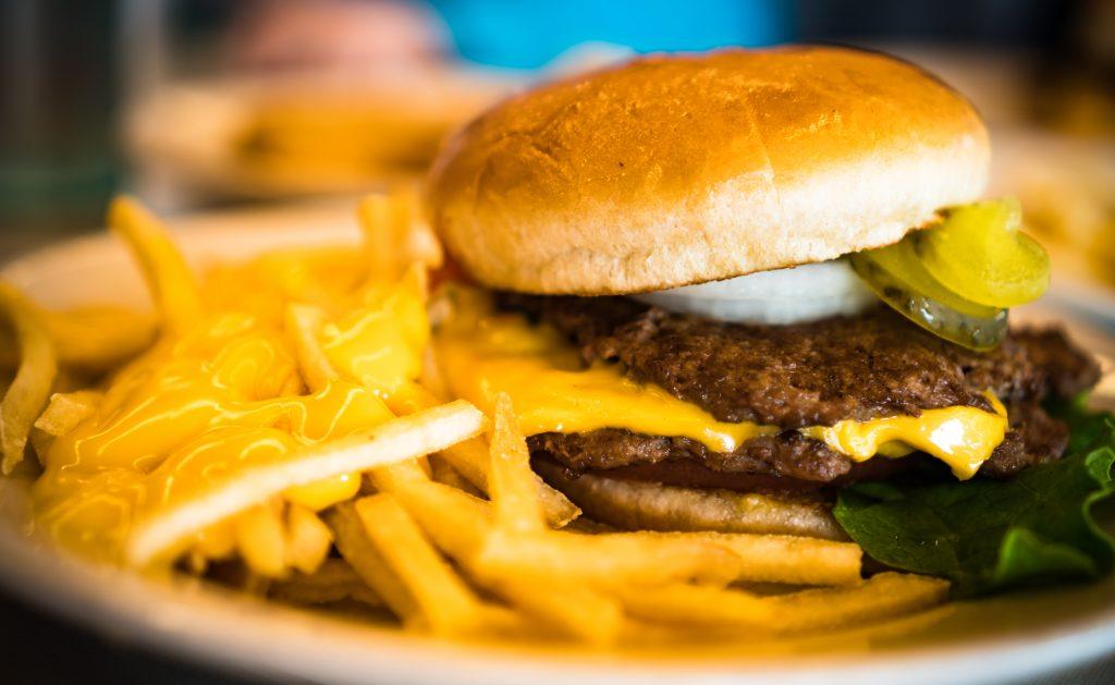 burger cheese fries steak 'n shake