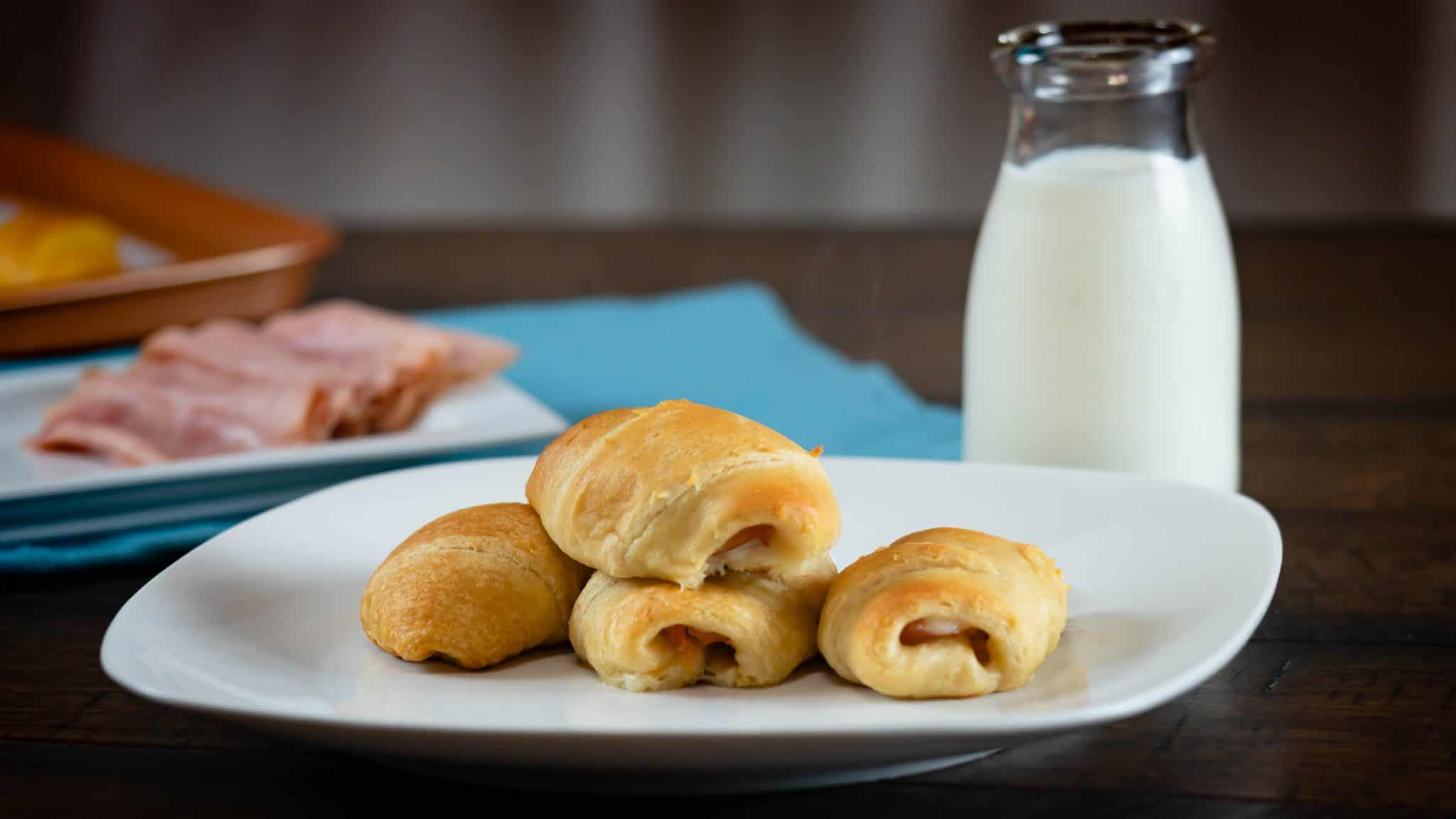 Ham & Muenster Cheese Croissants