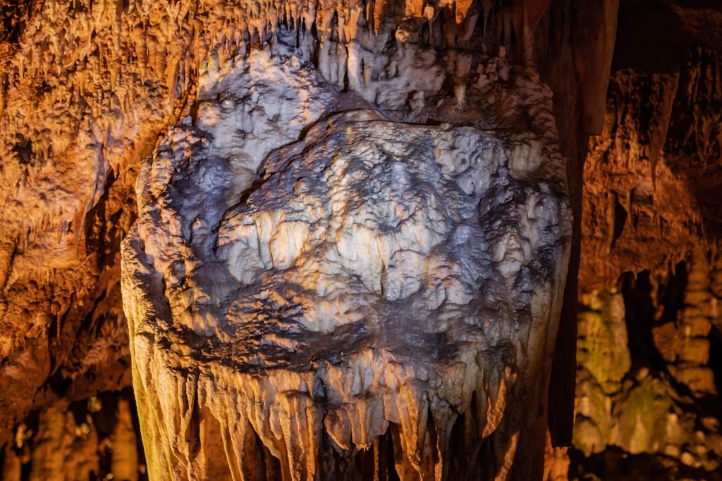 Grand Caverns shield formation cave Shenandoah valley virginia