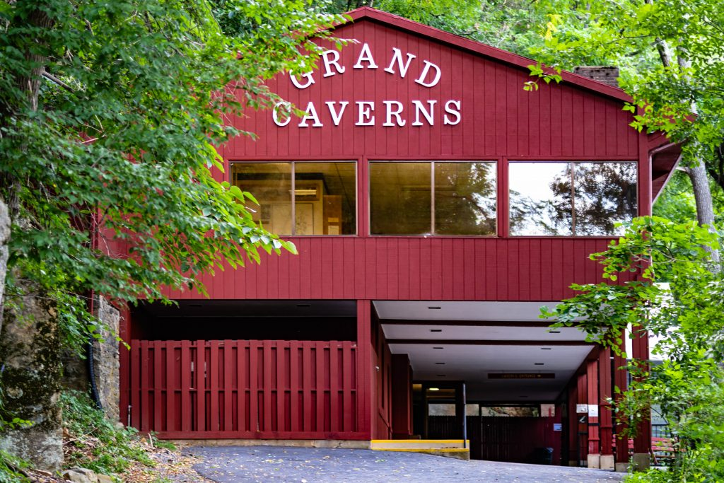 Grand Caverns Grottoes Virginia Entrance