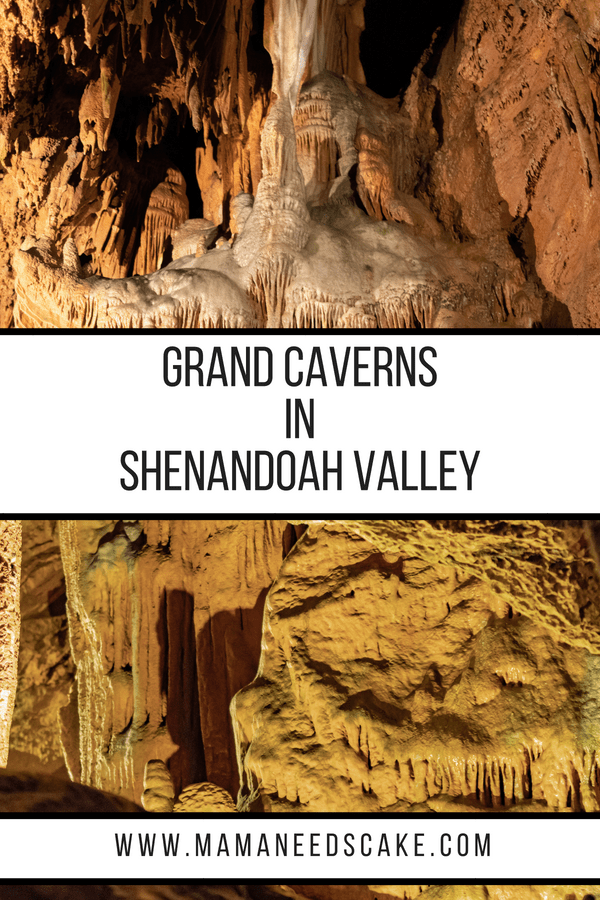 Grand Caverns in Shenandoah Valley 1