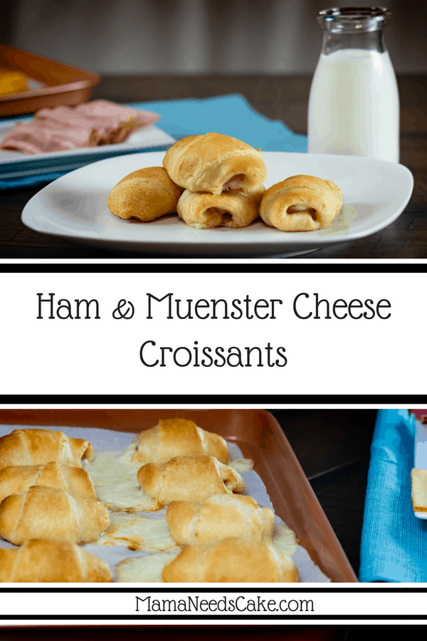 Ham Muenster Cheese Croissants