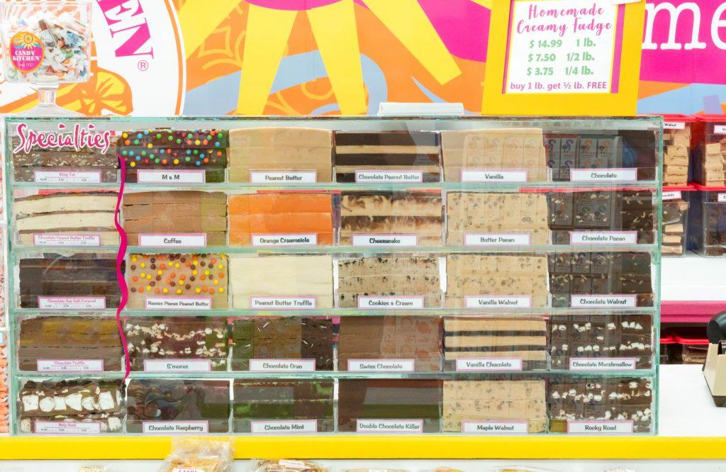 Candy Kitchen fudge Virginia Beach