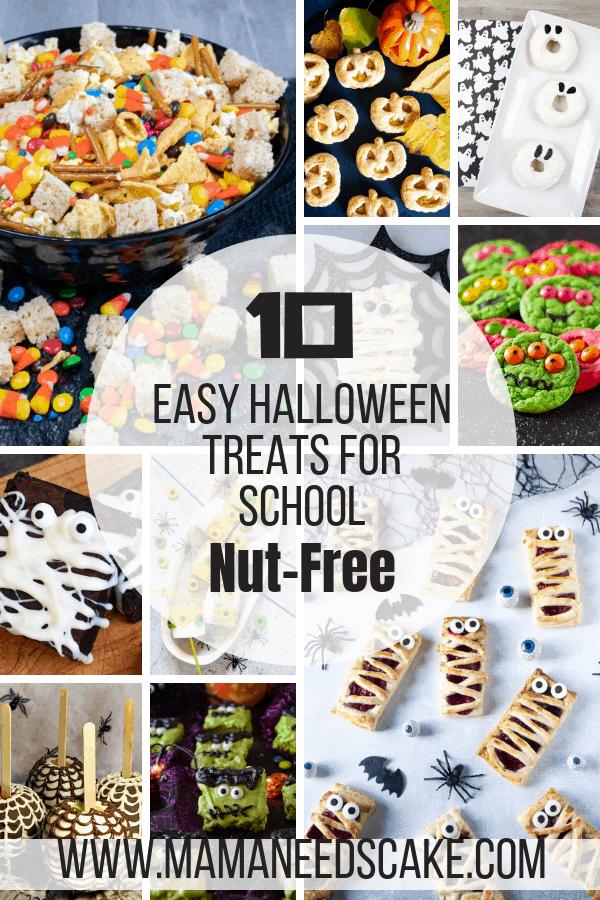 10 Easy Halloween Treats for School Nut Free