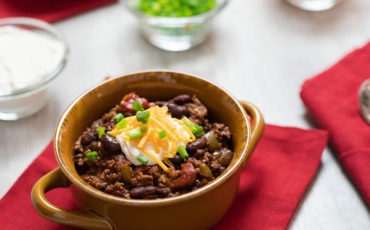 Instant Pot Homemade Chili