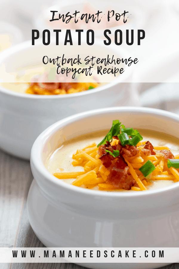 Instant Pot Potato Soup Outback Steakhouse Copycat Recipe 1