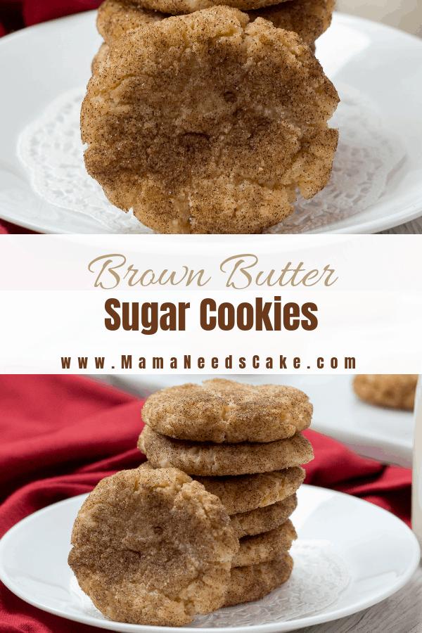Brown Butter Sugar Cookies 2