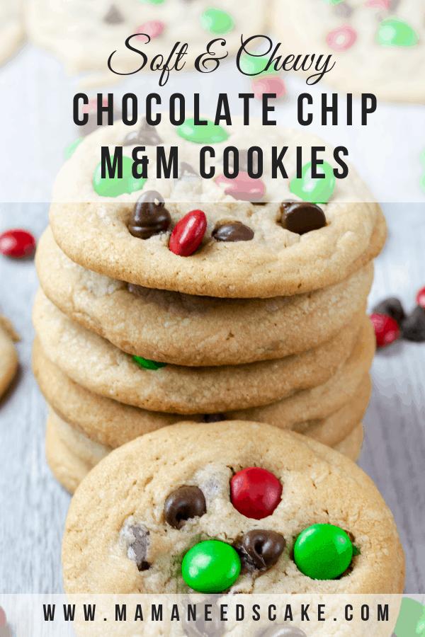 Chocolate Chip M M Cookies