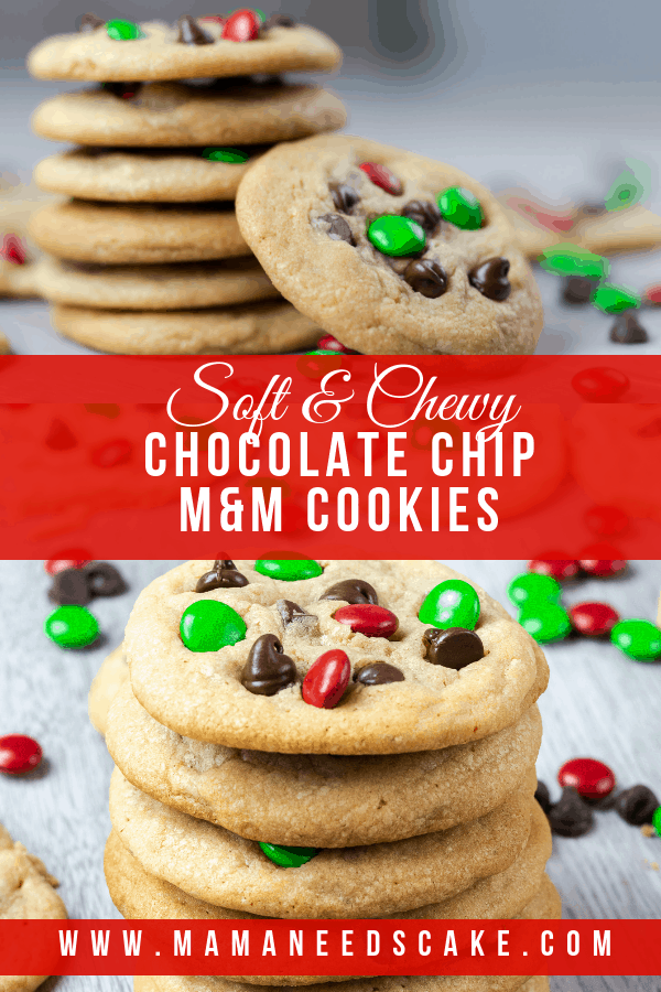 Chocolate Chip MM Cookies