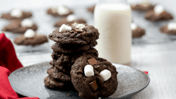 Hot Cocoa Cookies (Hot Chocolate Cookies)