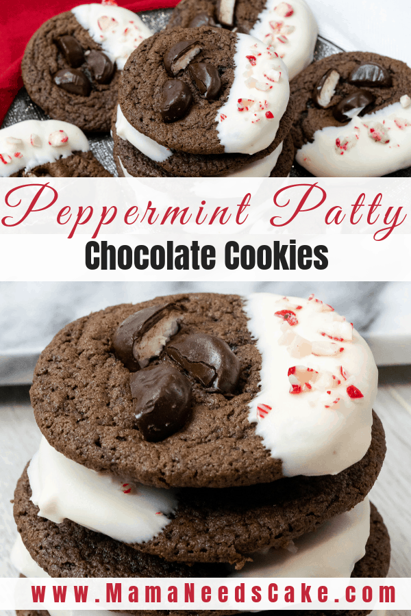 Peppermint Patty Chocolate Cookies 2
