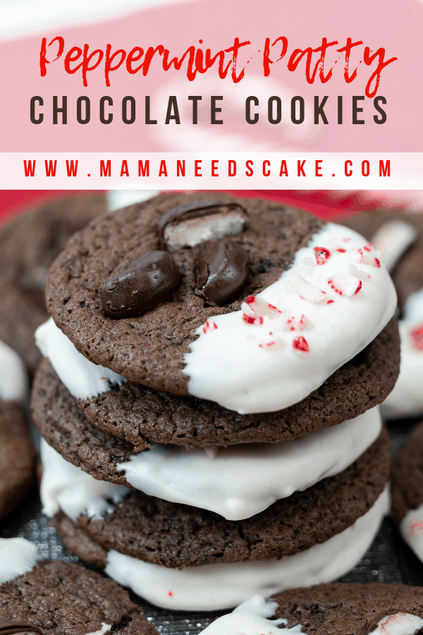 Peppermint Patty chocolate cookies