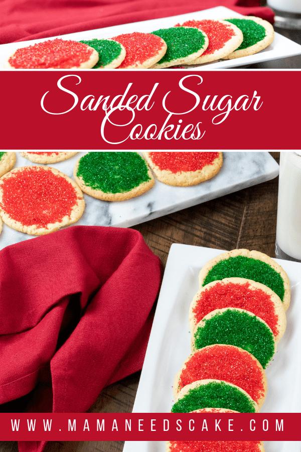 Sanded Sugar Cookies 1