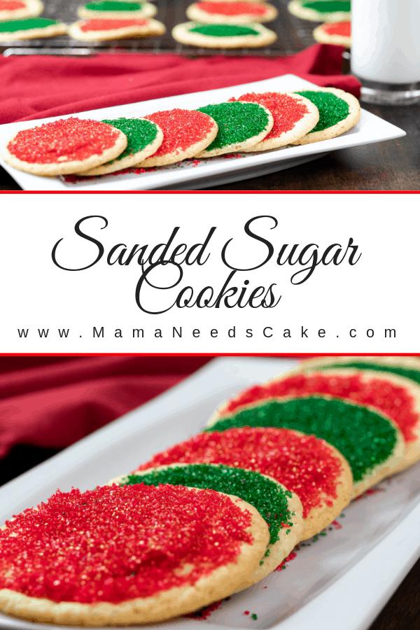 Sanded Sugar Cookies