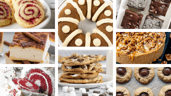 Christmas desserts bars cookies pies cheesecakes fudge