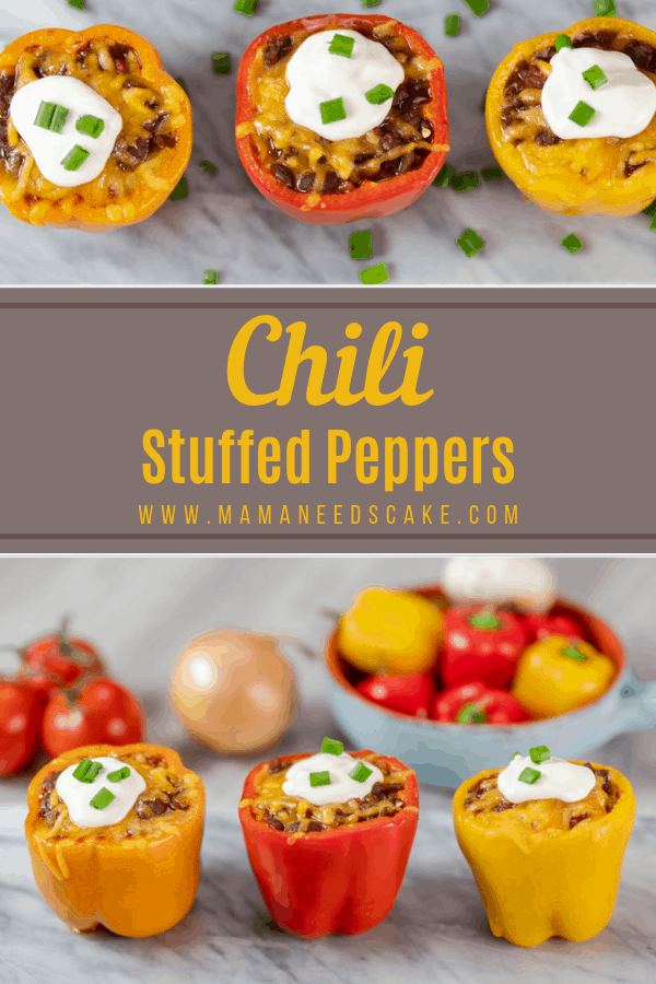 Chili Stuffed Peppers 1