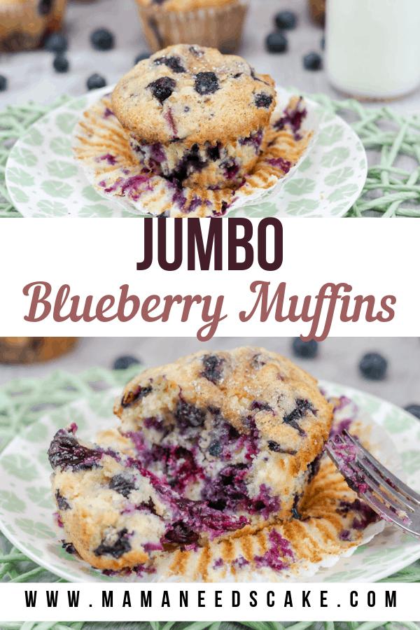 Jumbo Blueberry Muffins 1