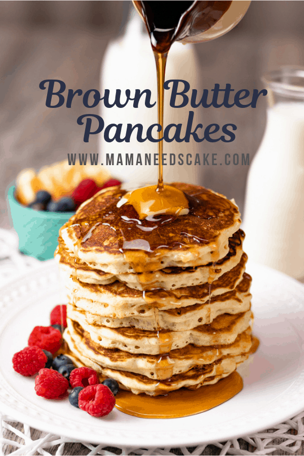 Brown Butter Pancakes