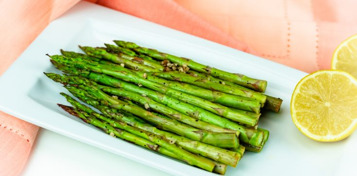 Lemon Oven-Roasted Asparagus