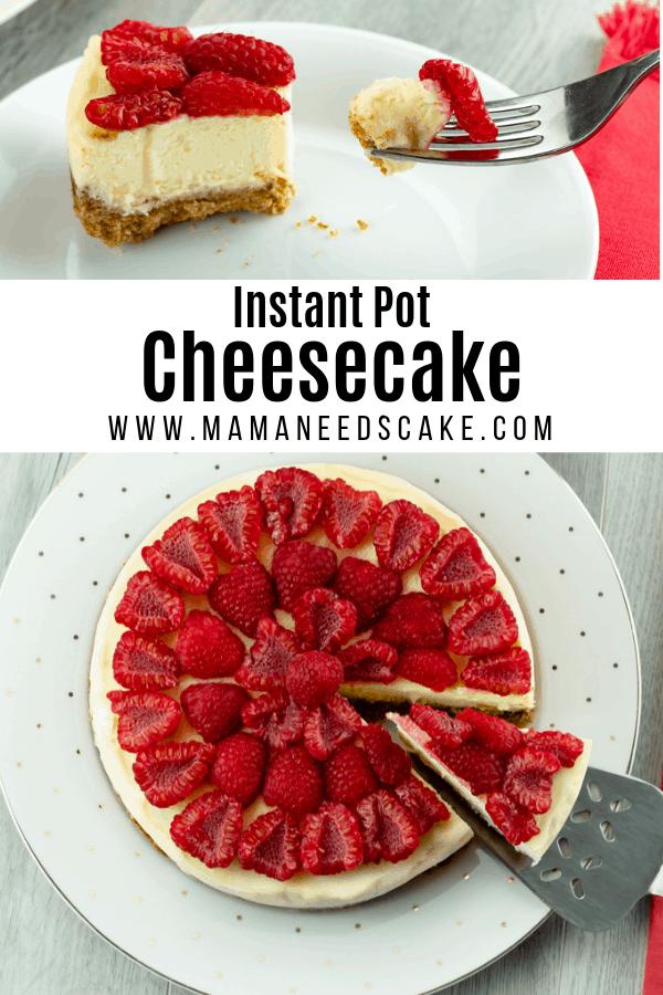 Instant Pot Cheesecake 2