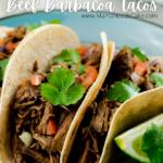 Instant Pot Beef Barbacoa Tacos 3