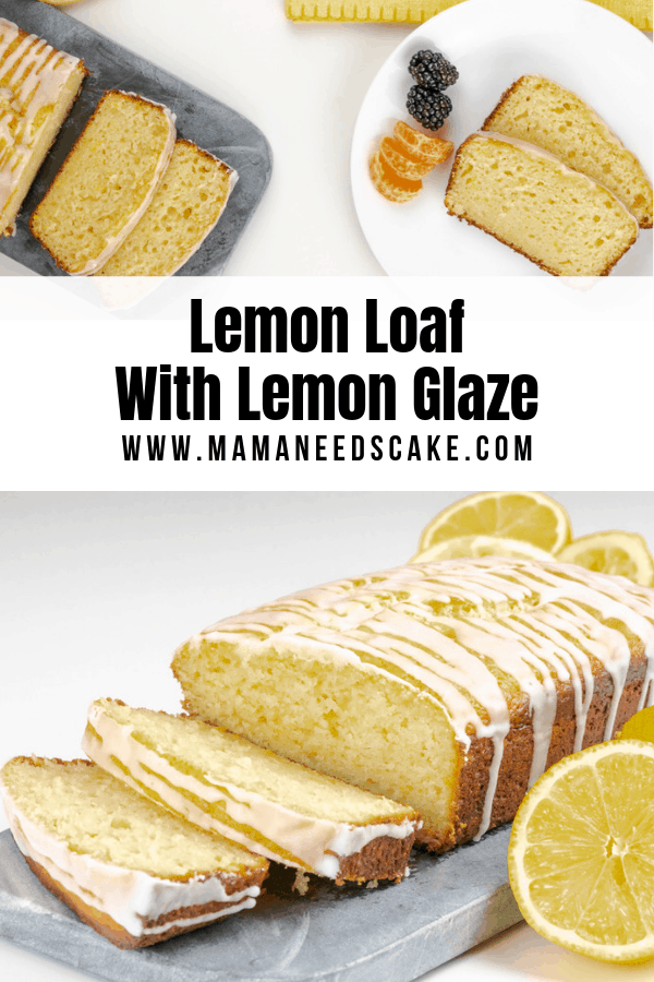 Lemon Loaf With Lemon Glaze 1