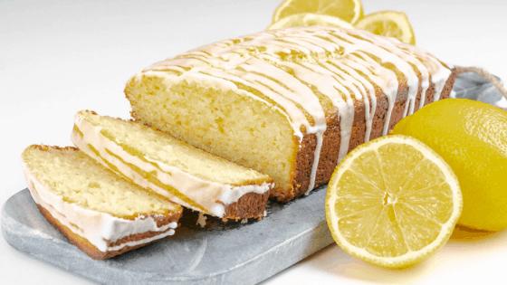 Lemon Loaf with Lemon Glaze 3