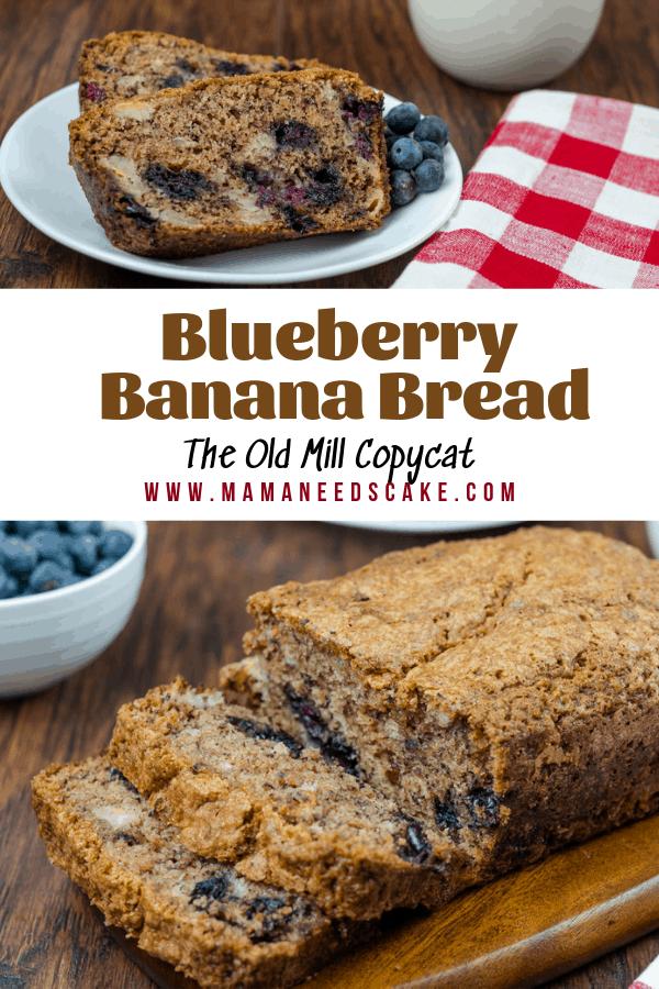 Blueberry Banana Bread 1