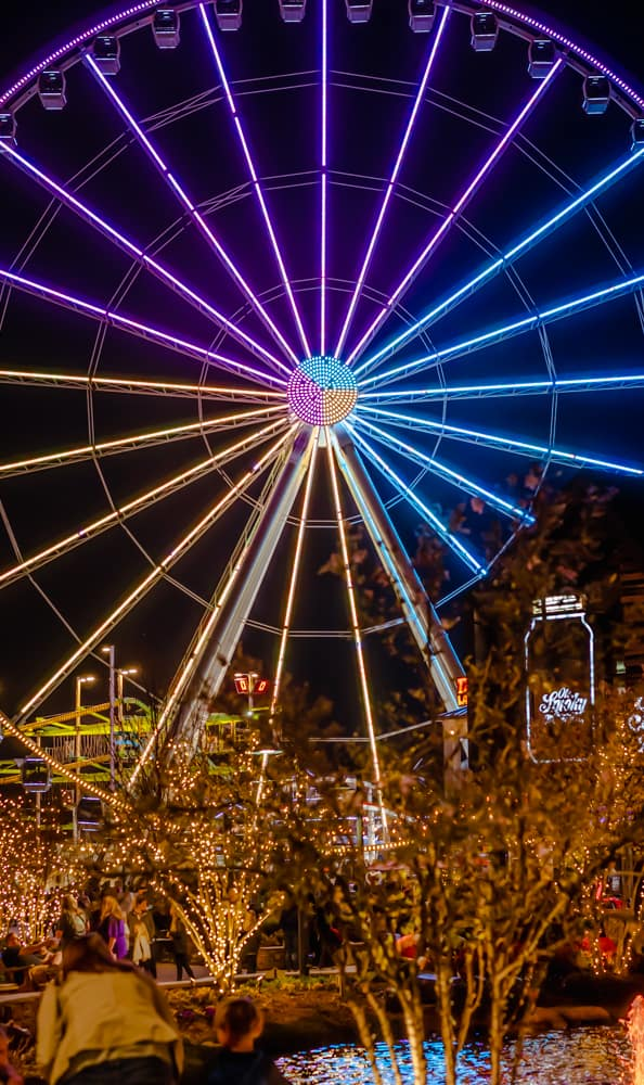 The Island at Pigeon Forge Smoky Mountain Wheel