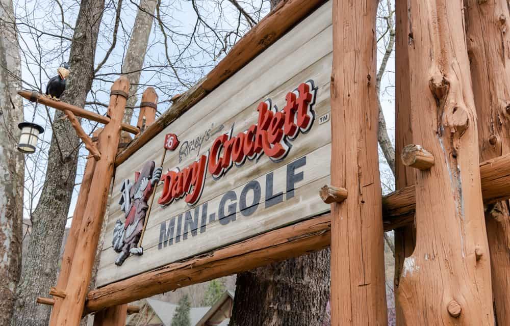 Ripley's Davy Crockett Mini Golf Gatlinburg Tennessee