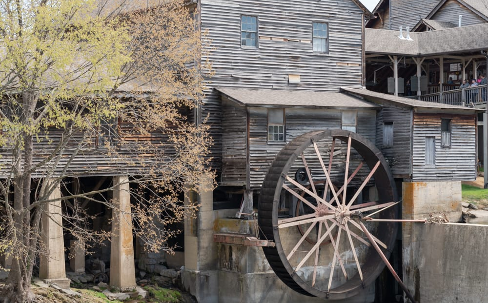 The Old Mill Restaurant, Pigeon Forge Tennessee
