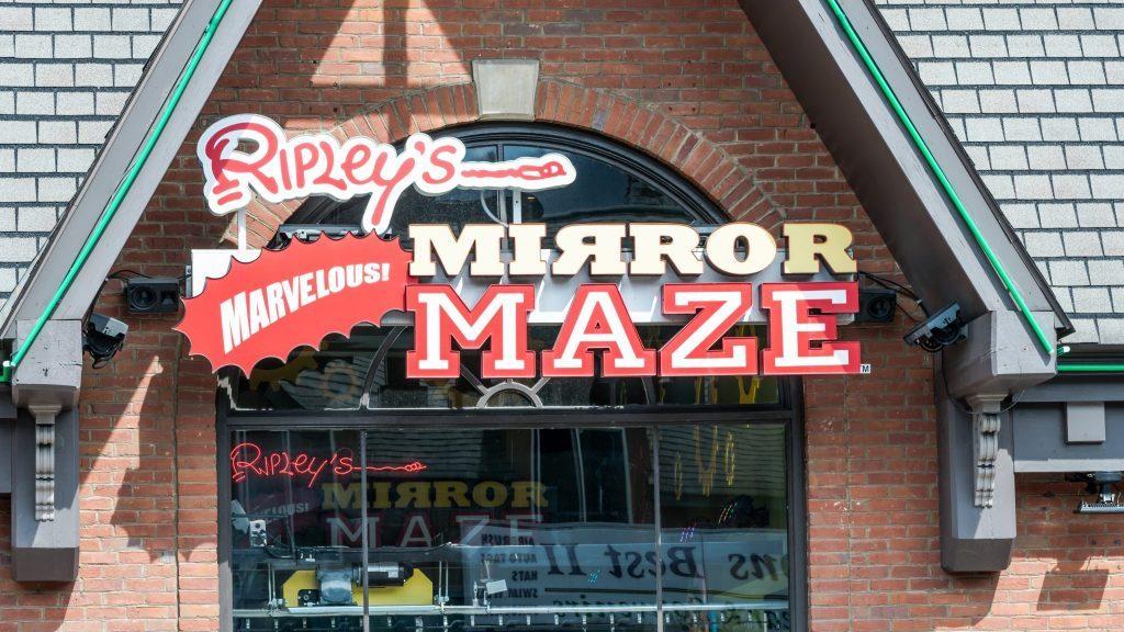 Ripley's Mirror Maze Gatlinburg Tennessee