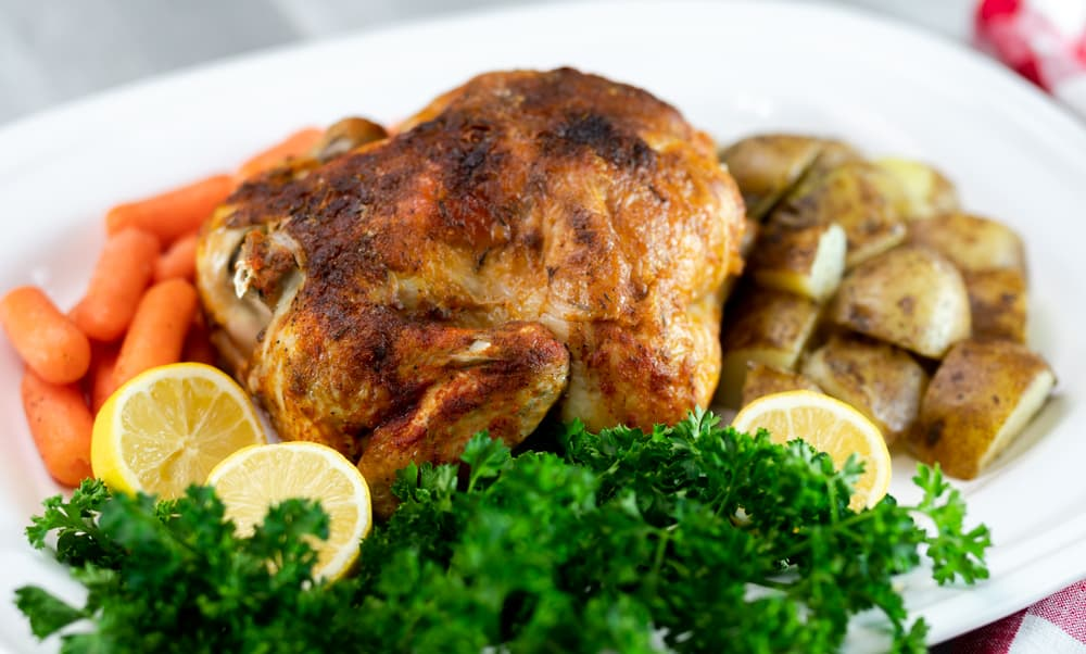 Instant Pot Whole Chicken (Rotisserie Style)
