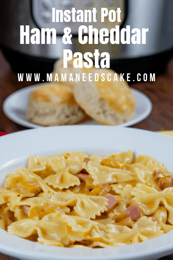 Ham and Cheddar Pasta