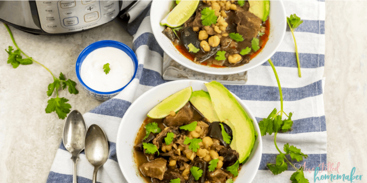 Instant Pot Pasole Mexican Stew 4