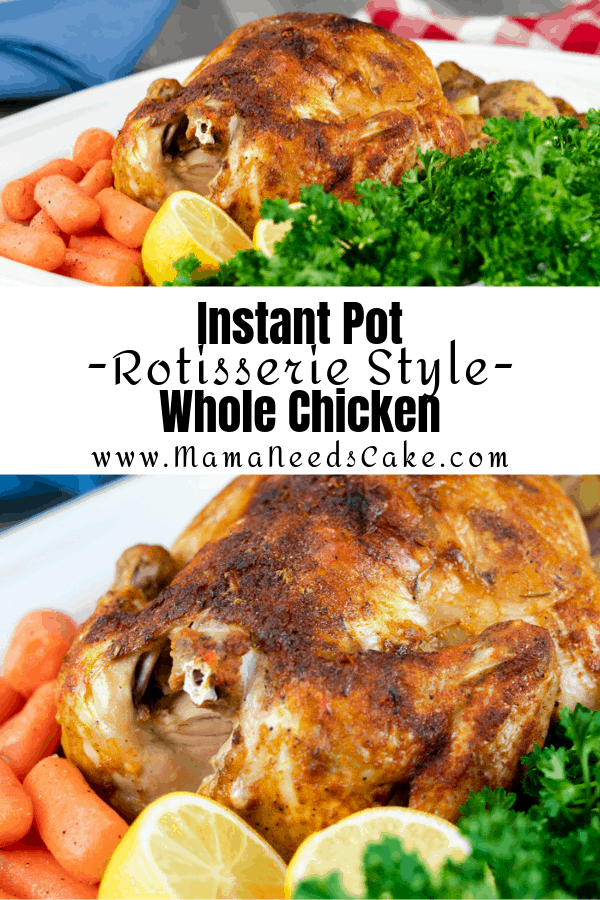 Instant Pot Whole Chicken 1