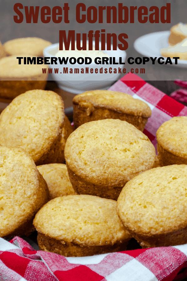 Sweet Cornbread Muffins Timberwood Grill Copycat 1