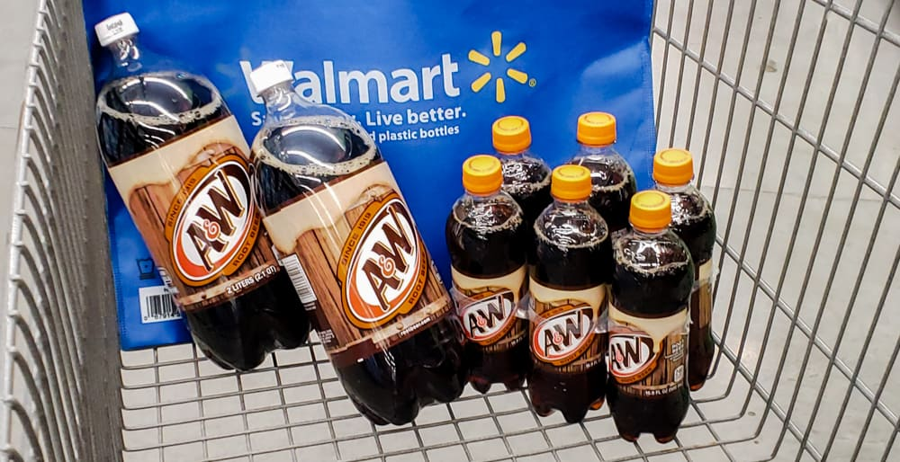 A&W Root Beer at Walmart