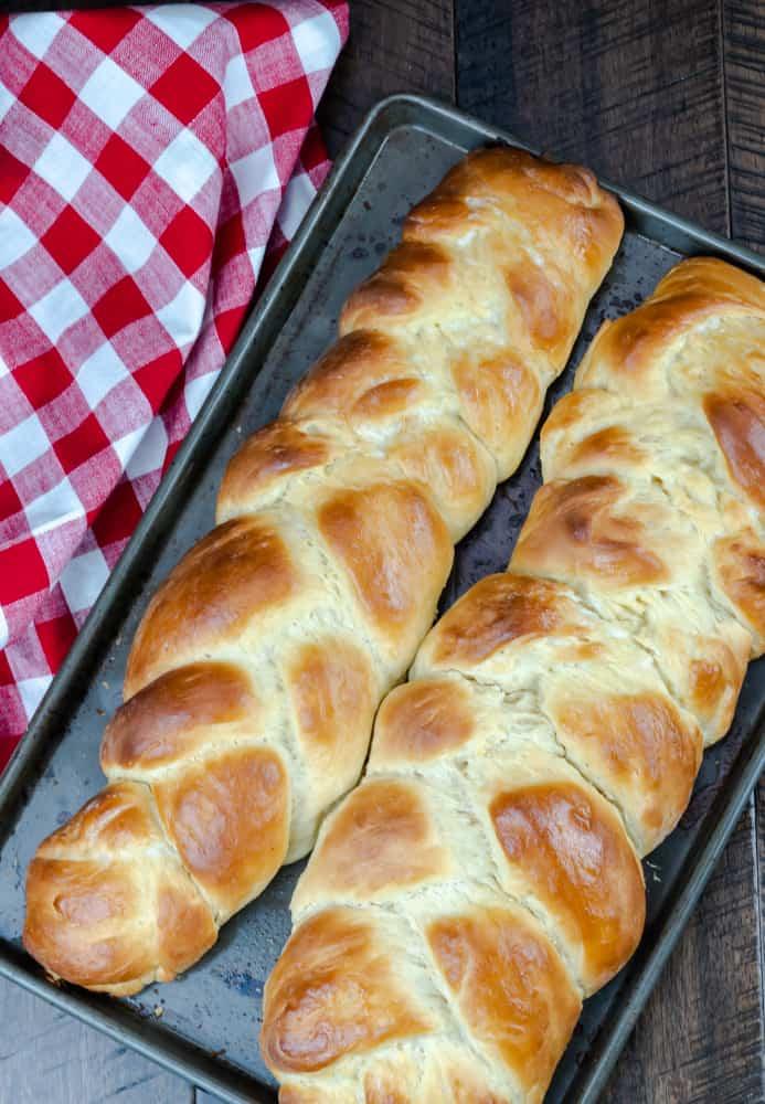 Challah Braided Egg Bread