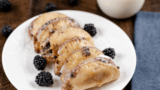 Fried Blackberry Pies (Air Fryer Option)