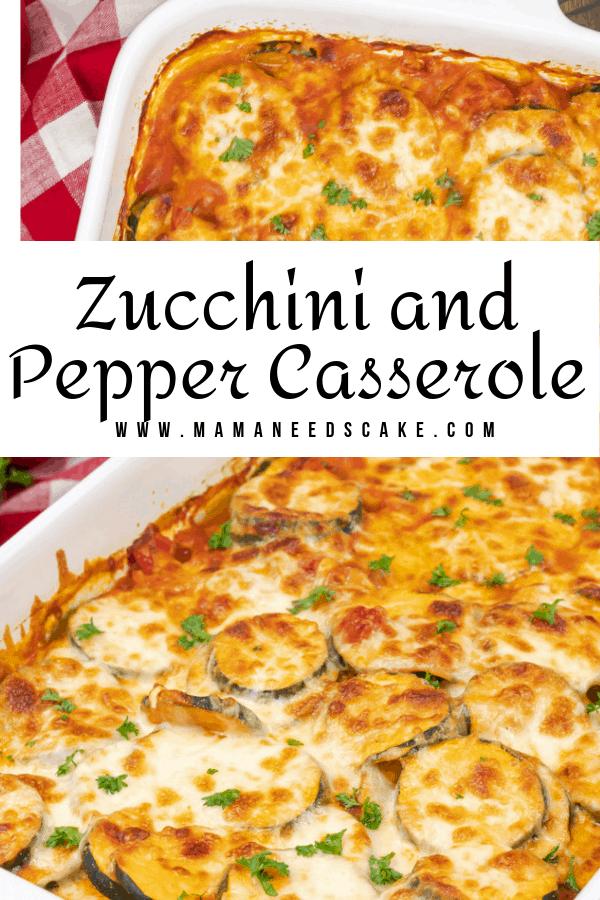 Zucchini and Pepper Casserole 2