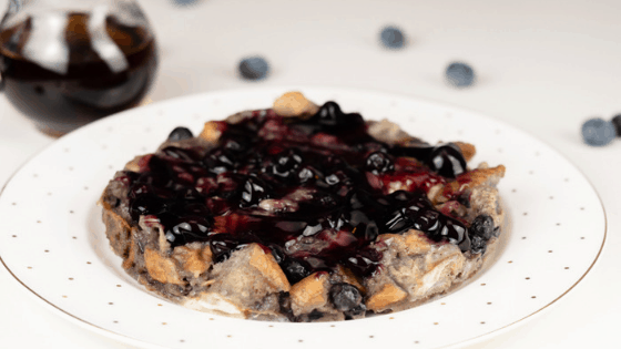 Instant Pot Blueberry French Toast